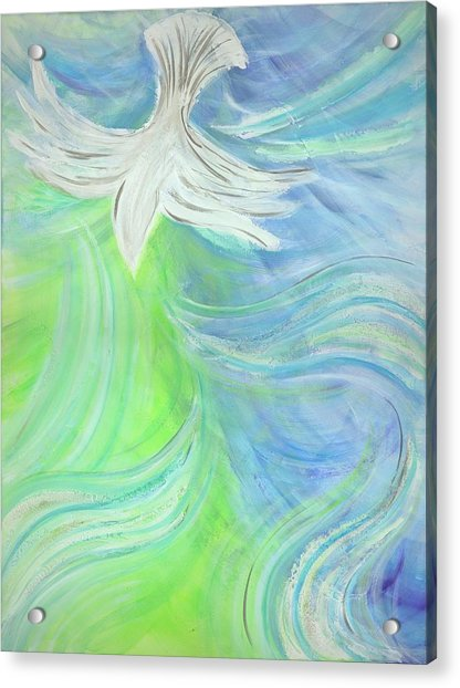 Holy Spirit Outpouring Acrylic Print