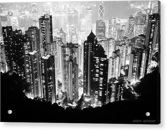 Hong Kong Nightscape Acrylic Print
