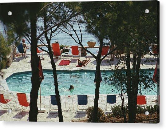 Hotel Il Pellicano Acrylic Print