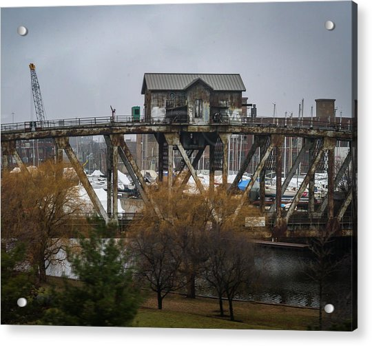 House Bridge Acrylic Print