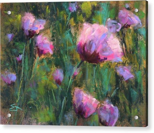 I Dream Of Purple Acrylic Print