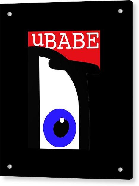 I See Ubabe Acrylic Print