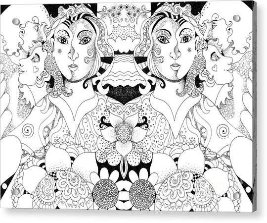Imagine 3 Acrylic Print