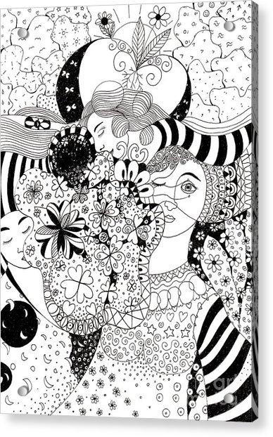 In Light And Dark Acrylic Print