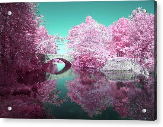 Infrared Bridge Acrylic Print