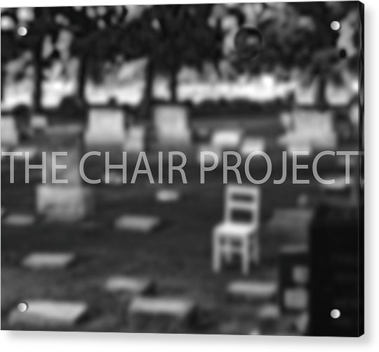 Invitation / The Chair Project Acrylic Print