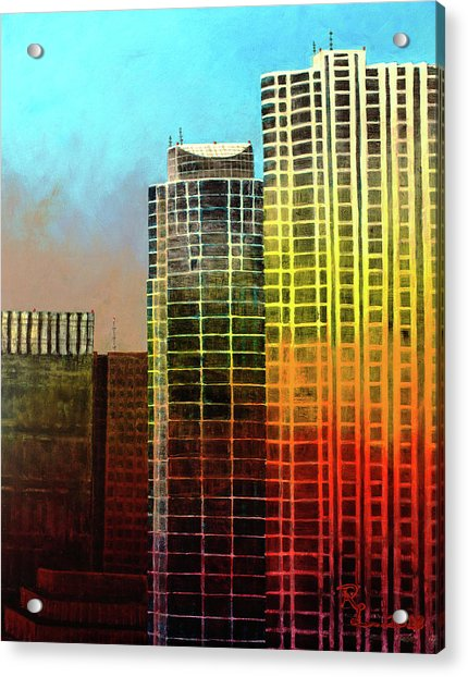 It Takes A Rainbow Acrylic Print