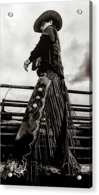 Its The Boots And The Chaps Acrylic Print