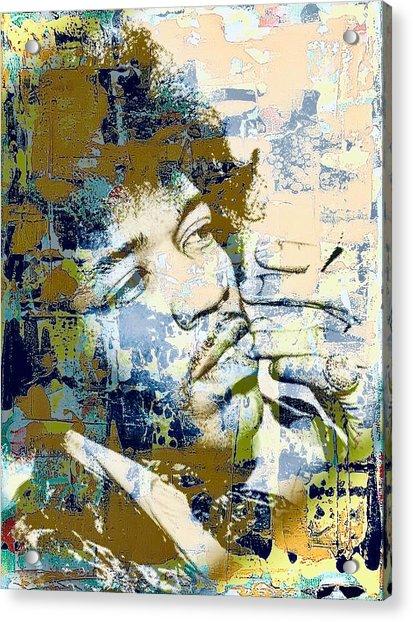 Jimi Soul Acrylic Print