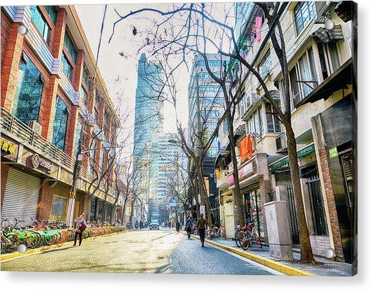 Jing An Acrylic Print