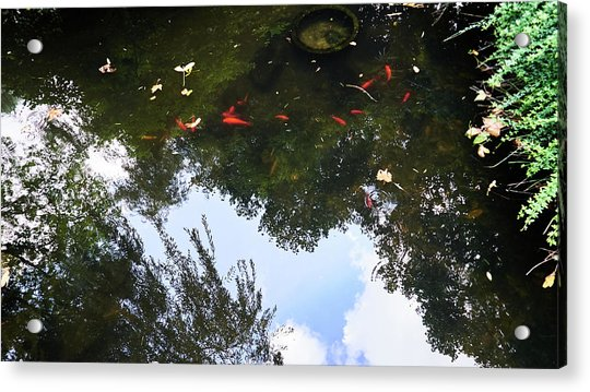 Jing An Park II Acrylic Print