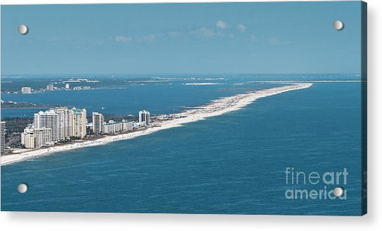 Johnson Beach Acrylic Print