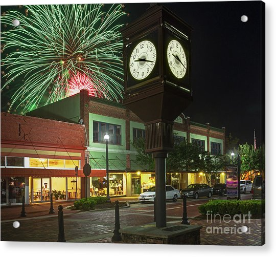 July 4th Sanford, Florida Acrylic Print