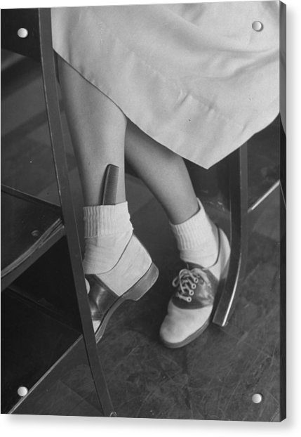 June Runyon Acrylic Print by Nina Leen