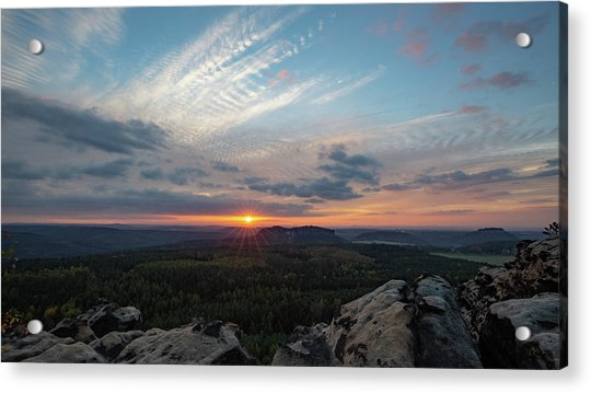 Just Before Sundown Acrylic Print