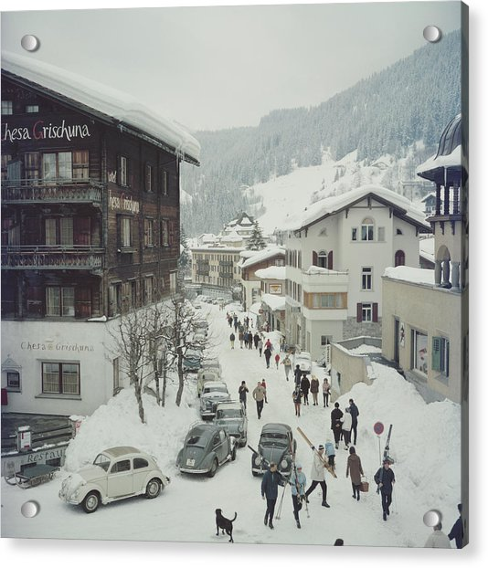 Klosters Acrylic Print