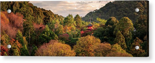 Higashiyama, Kyoto Acrylic Print