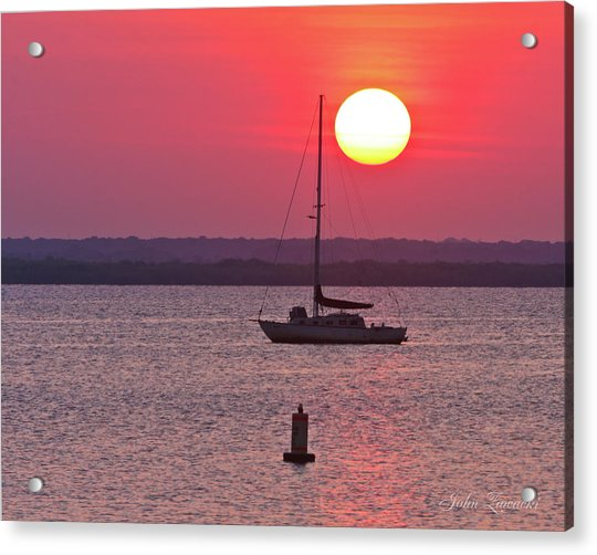 Lame Monroe Sunset-5140 Acrylic Print