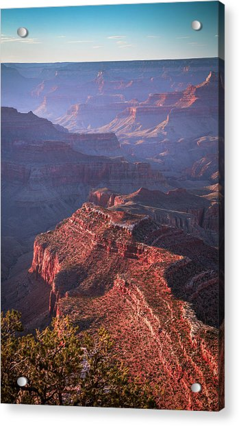 Late Afternoon Blues Acrylic Print