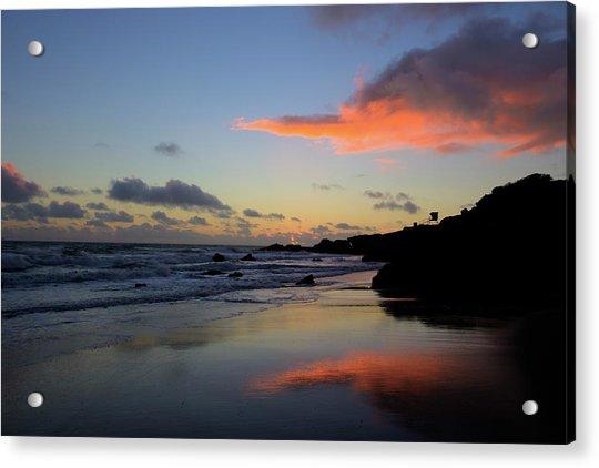 Leo Carrillo Sunset II Acrylic Print