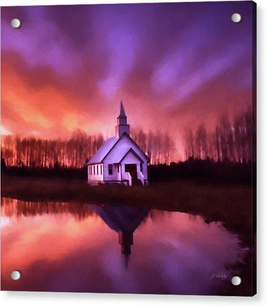 Light In The Dark - Hope Valley Art Acrylic Print