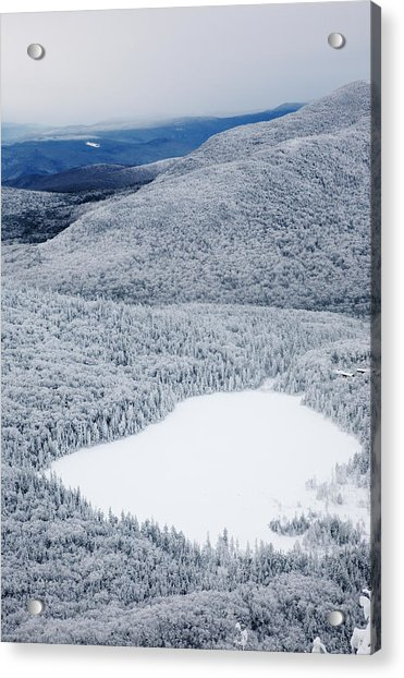 Lonesome Lake From Hi-cannon Trail Acrylic Print