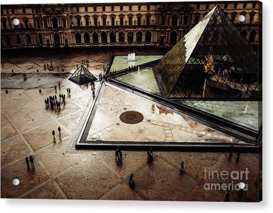 Louvre Acrylic Print