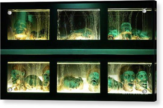 Macabre Severed Head Horror R1093 Acrylic Print