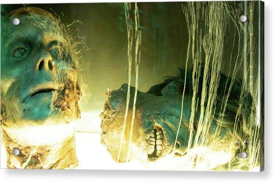 Macabre Severed Head Horror R1094 Acrylic Print