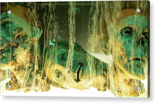 Macabre Severed Head Horror R1096 Acrylic Print