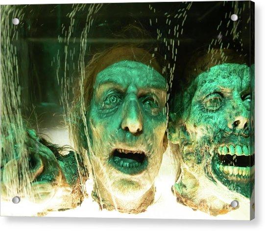 Macabre Severed Head Horror R1099 Acrylic Print