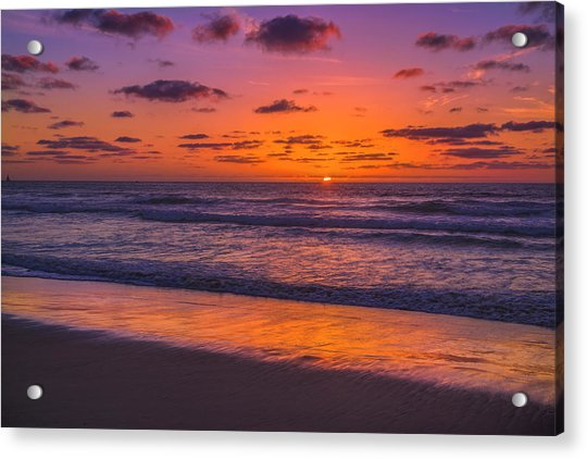 Magical Sunset Acrylic Print