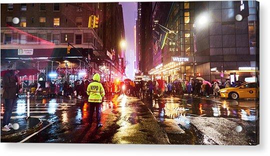 Manhattan Nye Acrylic Print