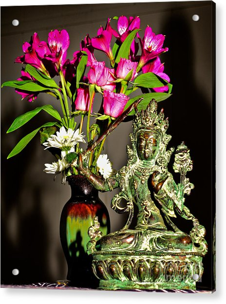 Manjushri- Bodhisattva Of Wisdom Acrylic Print