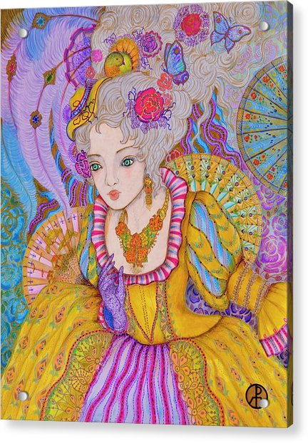 Marie Antinette Acrylic Print