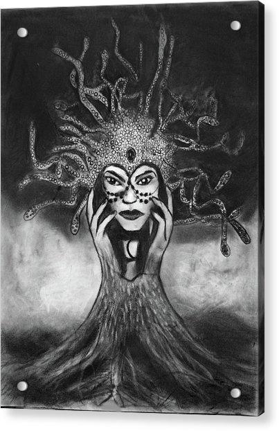 Medusa Acrylic Print