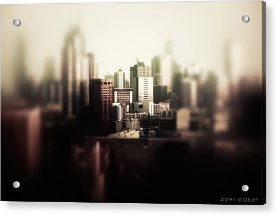 Melbourne Towers Acrylic Print