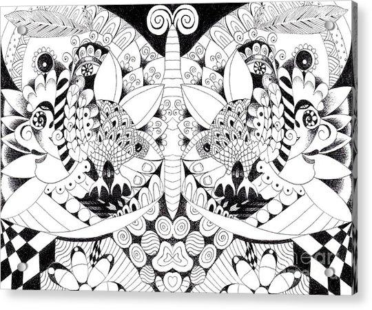 Metamorphosis Arrangement 1 Acrylic Print