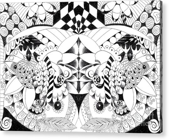 Metamorphosis Arrangement 3 Acrylic Print