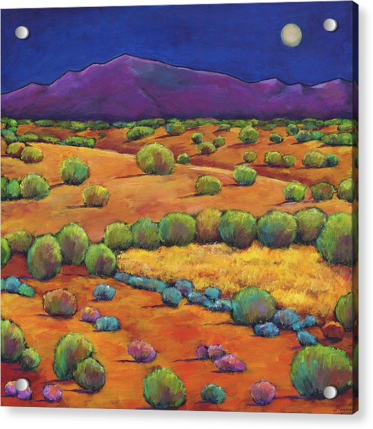 Midnight Sagebrush Acrylic Print