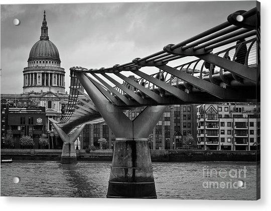 Millennium Bridge 01 Acrylic Print