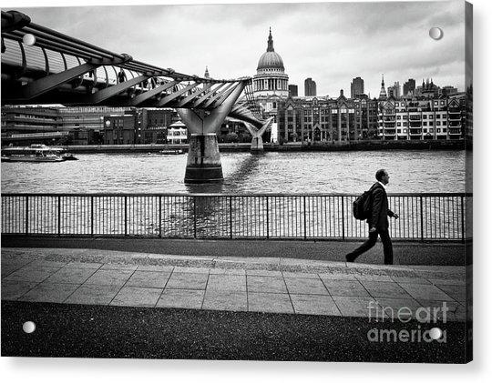 millennium Bridge 02 Acrylic Print