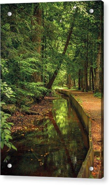 Millrace By John Cable Acrylic Print