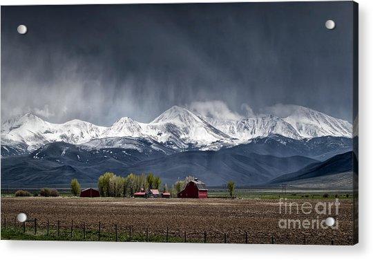 Montana Homestead Acrylic Print