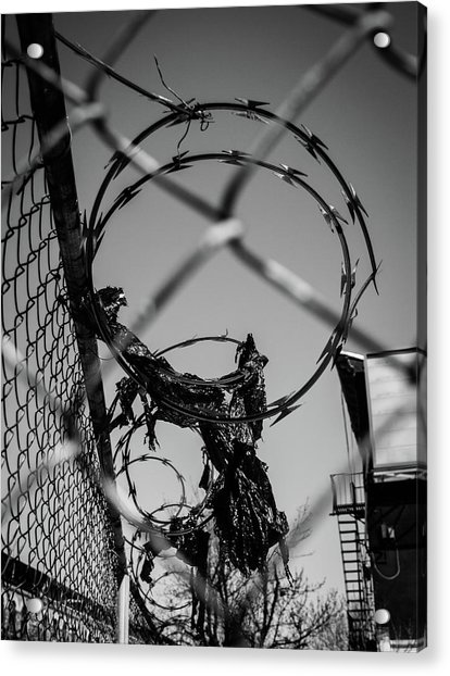 More Barriers Acrylic Print