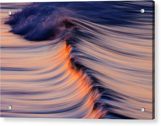 Morning Wave Acrylic Print