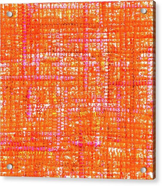 Mosaic Tapestry 3 Acrylic Print