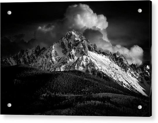 Mt Sneffels Drama Acrylic Print