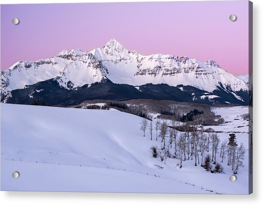 Mt Wilson Acrylic Print