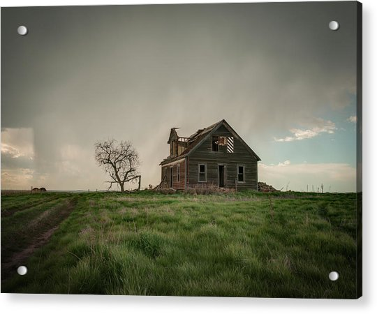 Nebraska Farm House Acrylic Print